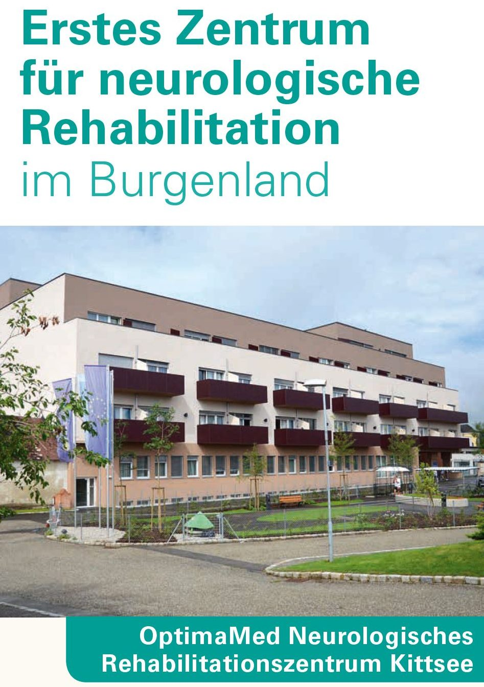 Bild Infofolder Neurologische Rehabilitation Kittsee